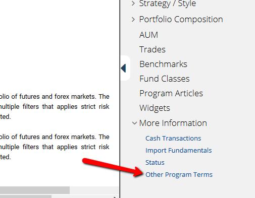 Fund tearsheet automation - screenshot